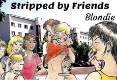 Stripped by Friends
