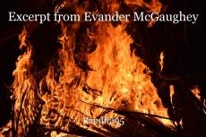 Excerpt from Evander McGaughey
